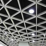 大吕铝格栅厂家 菱形格栅天花 定制生产