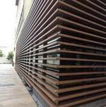 广东铝方通厂家直销 木纹铝方通吊顶  量大从优