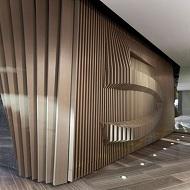 木纹铝方通吊顶定制 量大从优 广州铝方通厂家直销