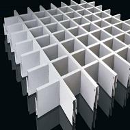 铝格栅厂家 菱形格栅天花 定制生产