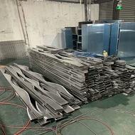 广东墙面铝方通厂家产品做货实拍