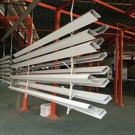 广东氟碳铝方通厂家产品上喷涂线