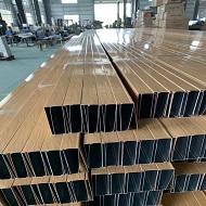 广东条形铝方通厂家产品做货实拍