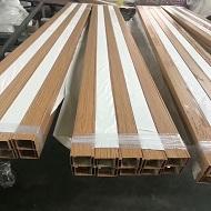 木纹铝方通吊顶产品出货