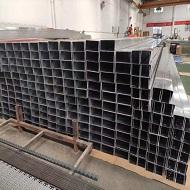 规格200*100的u型铝方通成型完毕